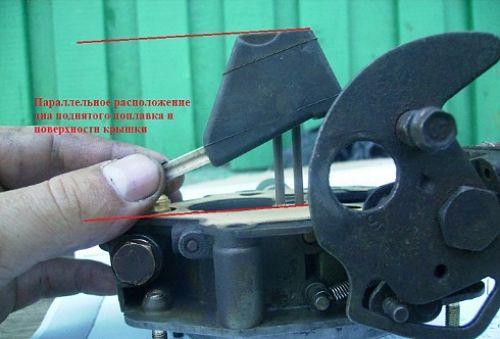 настраиваем карбюратор ВАЗ 2109