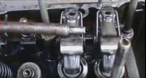 замена втулки клапана