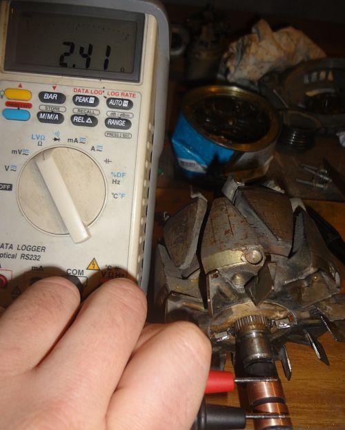генератор не дает зарядку