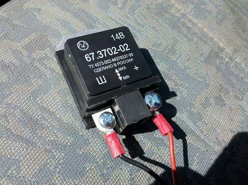 реле-регулятор напряжения генератора