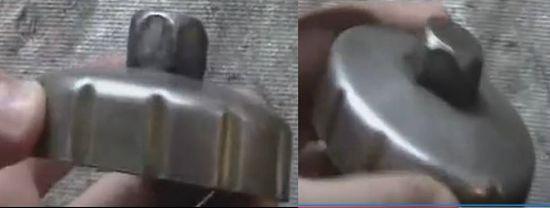 съемник для снятия масляных фильтров Рено Логан