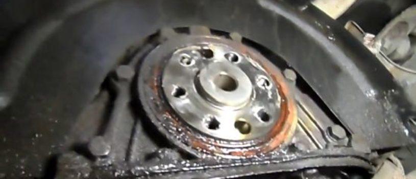 Замена заднего сальника коленвала ВАЗ 2101-2107 своими руками