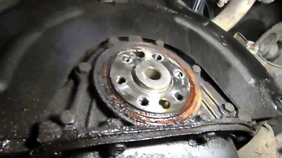Замена заднего сальника коленвала двигателя ВАЗ 2101-2107