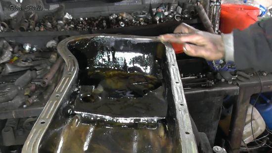 Замена прокладки поддона двигателя ВАЗ 2107