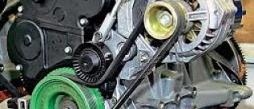 Технология замены ремня генератора