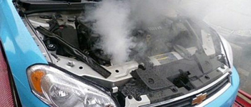 Из-за чего возникает перегрев мотора?