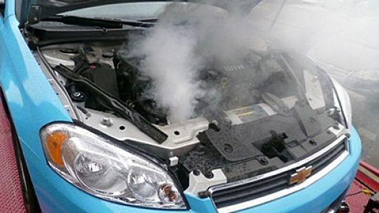 радиатор закипел в авто