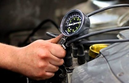 Как правильно измерить компрессию в двигателе Renault Logan (Sandero)