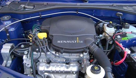 1.6 и 1.4 двигатели Рено Логан