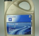 Технические характеристики моторного масла GM 5W30 Dexos2