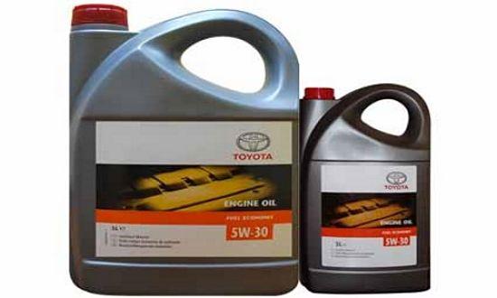 Моторное масло Тойота 5w30