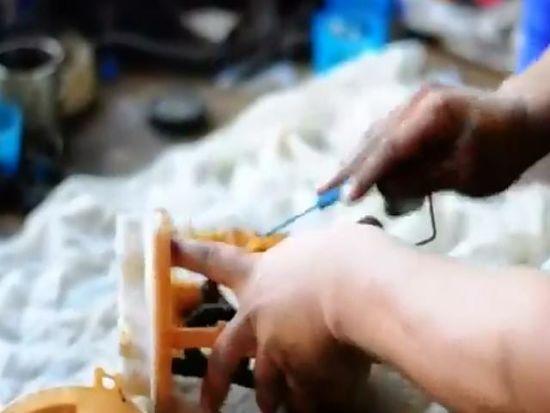 снятие насоса