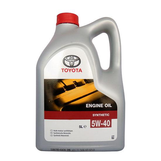 Моторное масло Тойота 5w40