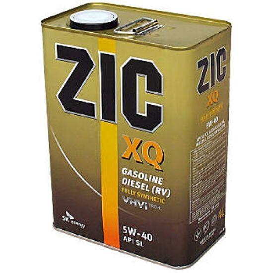 канистра масла ZIC 5W40
