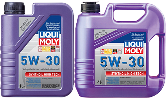 масло Liqui Moly Synthoil High Tech 5W-30