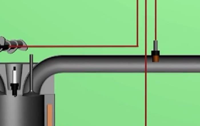 положение кислородного датчика