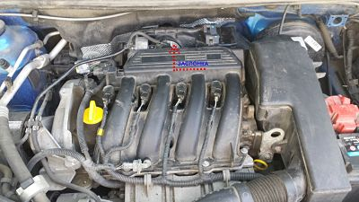 двигатель К4М с дроссельной заслонкой